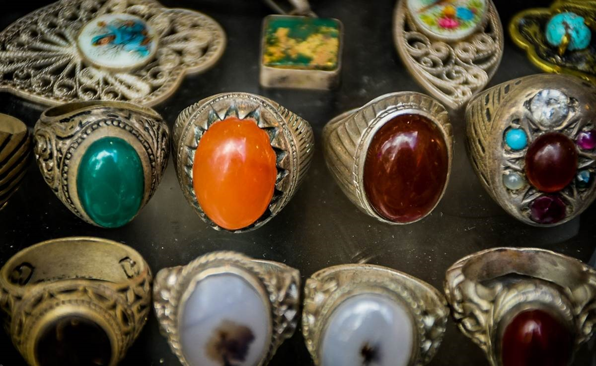 Persian traditional rings